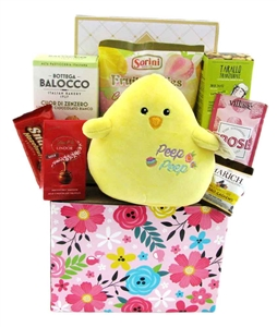 Easter gift baskets ideas glitter gift baskets happy easter basket gourmet gift negle Image collections