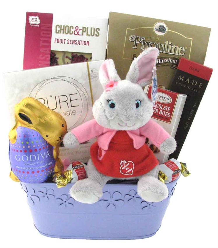 Bunny surprise easter basket glitter gift baskets bunny surprise easter basket negle Image collections