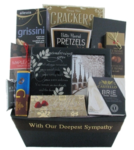 Remembering you Gift Basket