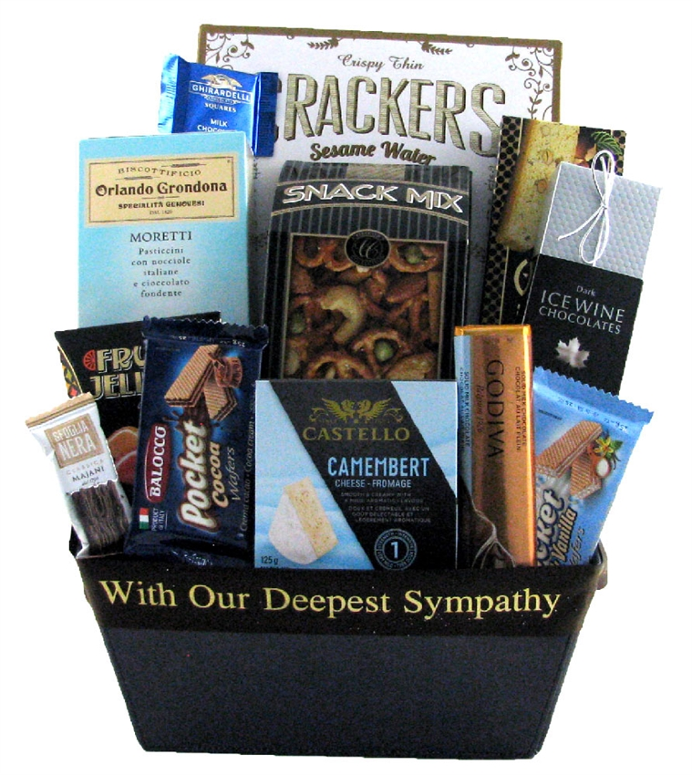 Bereavement Gift Baskets that are delivered across Canada