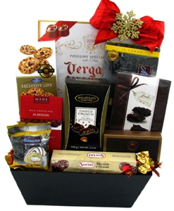 Gift baskets canada gourmet baby food wine birthday deluxe chocolate treats negle Images