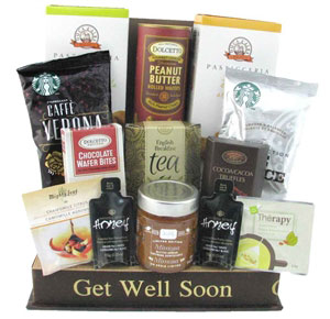 Coffee and Tea Deluxe Tea Chest