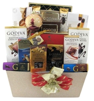 chocolate godiva baskets