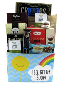 get well gifts · Speedy Recovery Gift Basket In Stock