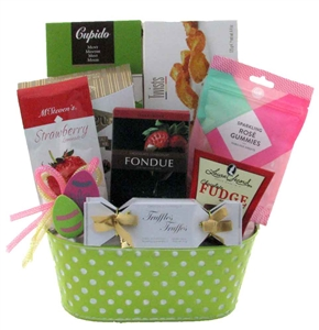 Easter gift baskets ideas glitter gift baskets easter gift baskets negle Choice Image