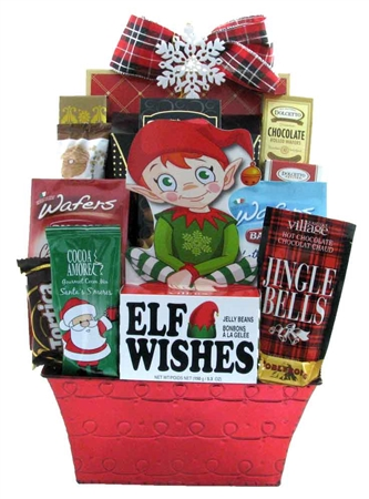 Christmas Baskets.Elf Wishes
