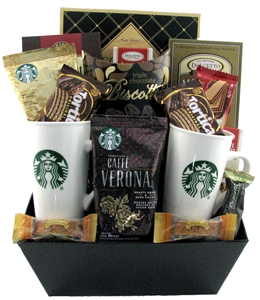 starbucks gift baskets Coffee Gift Basket