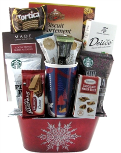 Starbucks gift baskets gifts for coffee lovers glitter gifts starbucks gift baskets coffee gift basket toronto negle Choice Image