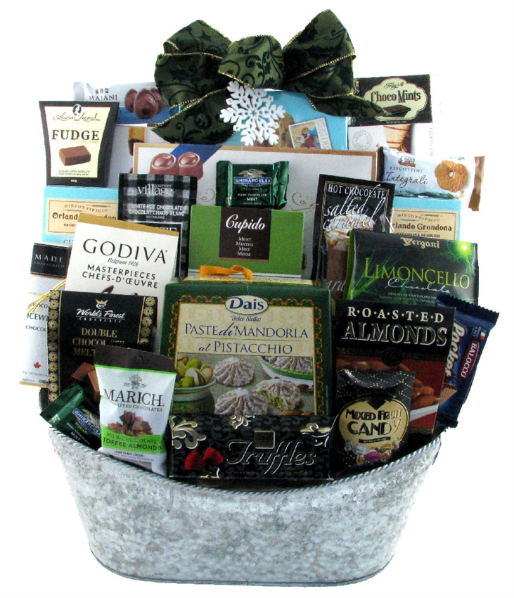 Christmas sweet feast glitter gift baskets coffee delight 1402 coffee gift basket negle Images