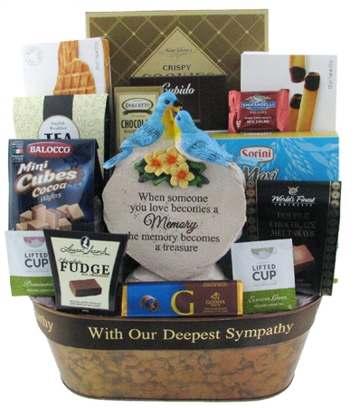 Treasured Memories Gift Basket
