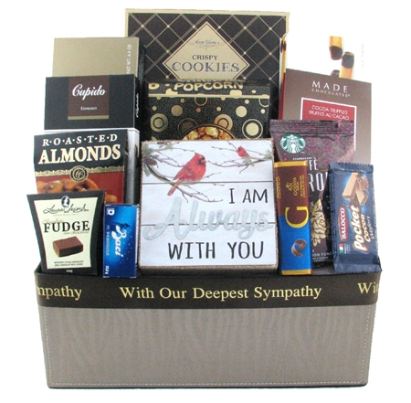 I am Always with you gift basket