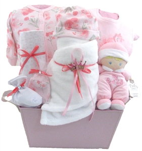 Baby gift baskets pesonalized gifts glitter gift baskets baby gift basket vancouver negle Image collections
