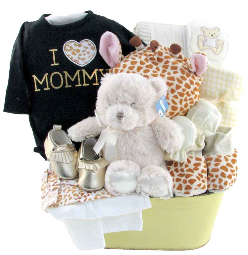 Just mommy and me glitter gift baskets baby gift baskets calgary negle Images