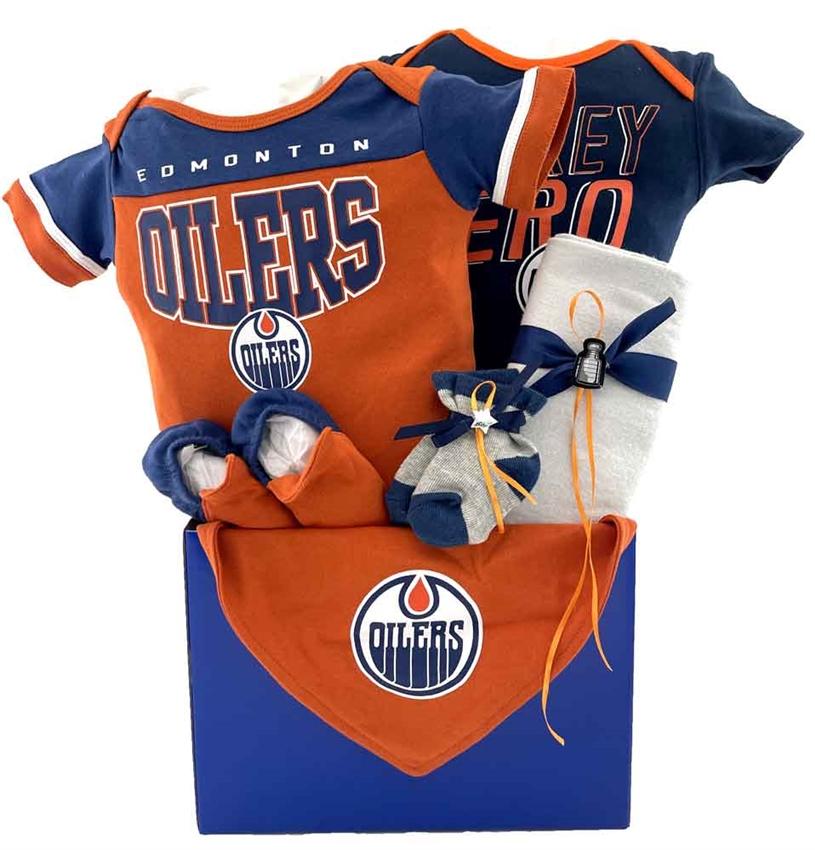 Edmonton oilers basket glitter gift baskets baby baskets edmonton negle Image collections