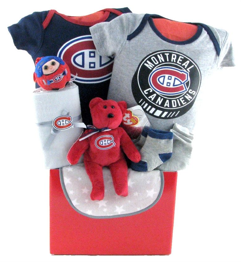 Montreal canadiens basket glitter gift baskets baby baskets montreal negle Images