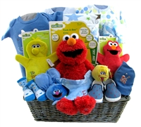 baby boy gift basket 2075