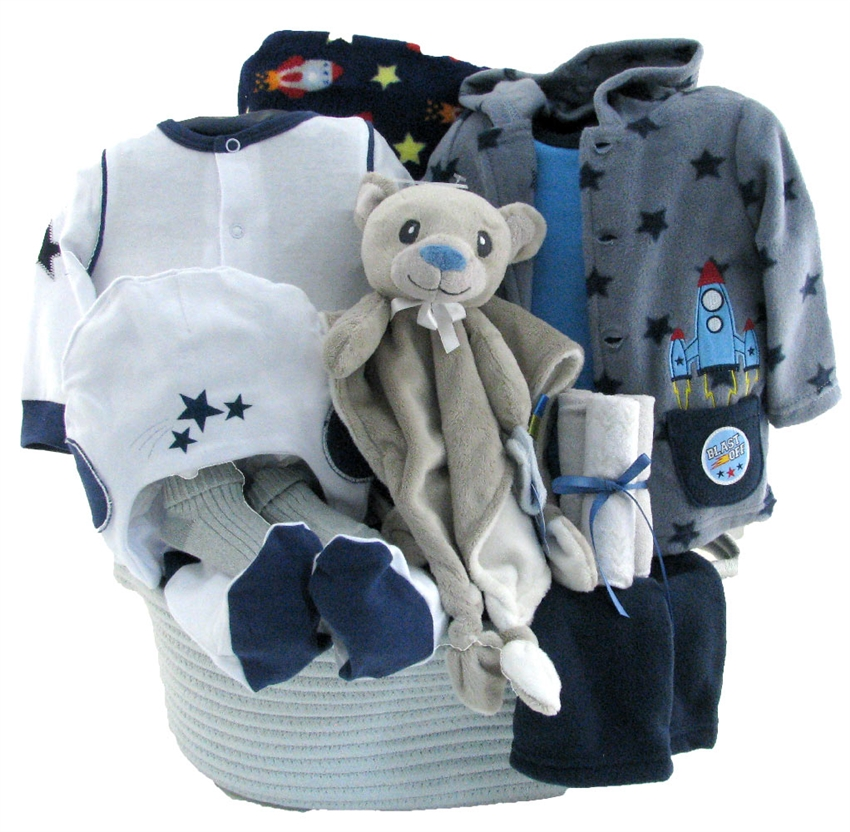 Personalization Available |... Big Dreamzzz Baby Astronaut 2-Piece Layette Set