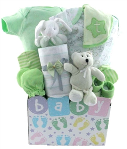 Baby gift baskets pesonalized gifts glitter gift baskets 2108 negle Images