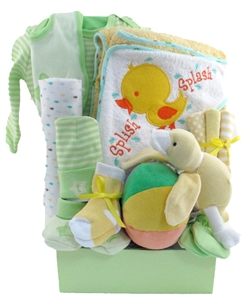 Baby gift baskets pesonalized gifts glitter gift baskets montreal baby gift negle Images