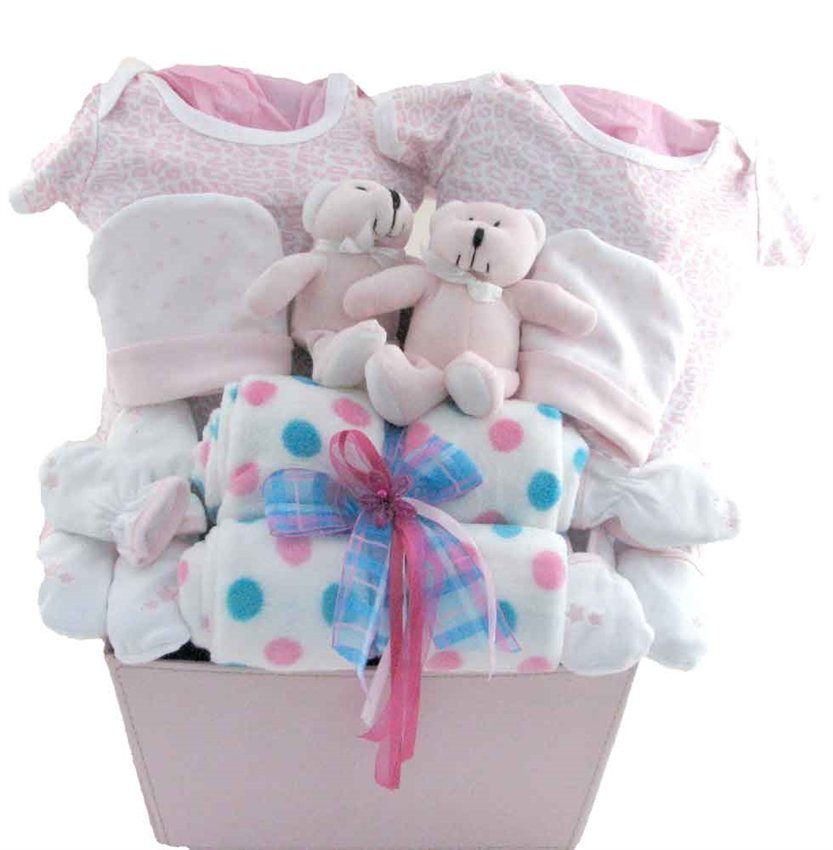 Baby Gift Ideas Twins : Gift baskets for twins ftempo