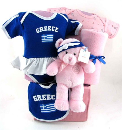 baby baskets team Greece cheerleader