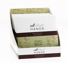 All About Hands Hand & Nail Soak Envelope