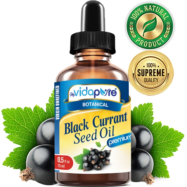 myVidaPure BLACK CURRANT SEED OIL