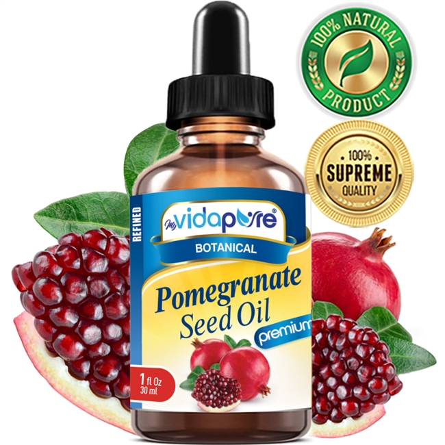 myvidapure pomegranate seed oil