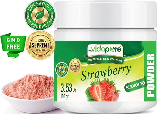 myVidaPure STRAWBERRY POWDER