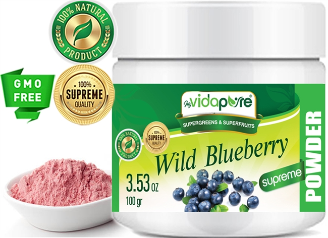 myVidaPure WILD BLUEBERRY JUICE POWDER