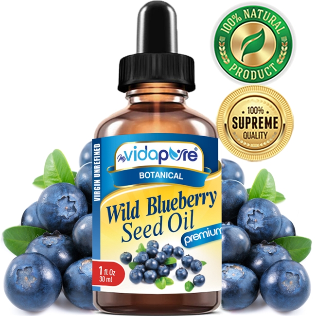 myVidaPure WILD BLUEBERRY SEED OIL