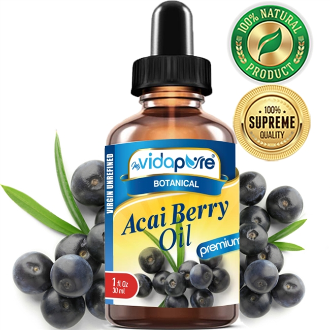 myVidaPure ACAI BERRY OIL