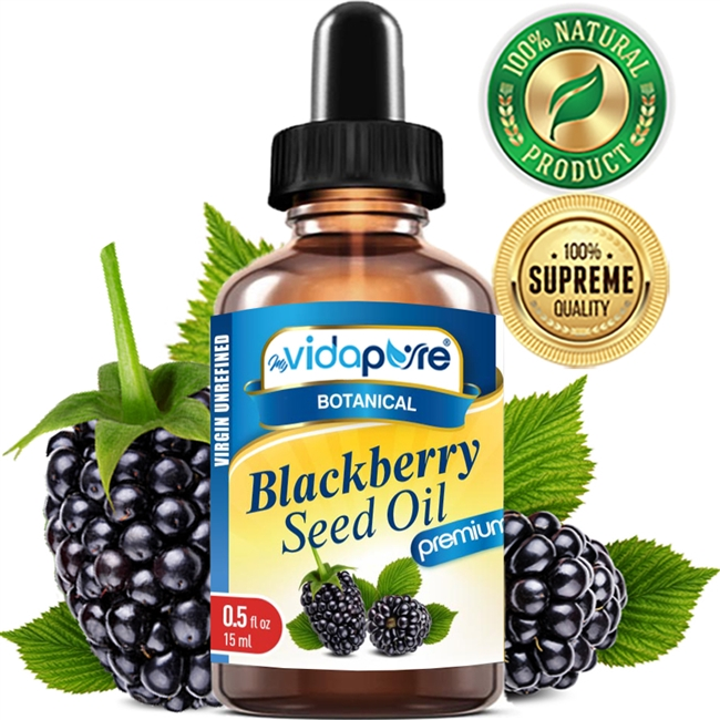 myVidaPure BLACKBERRY SEED OIL