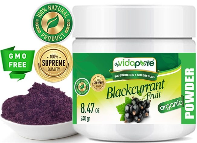 black currant fruit powder organic myvidapure