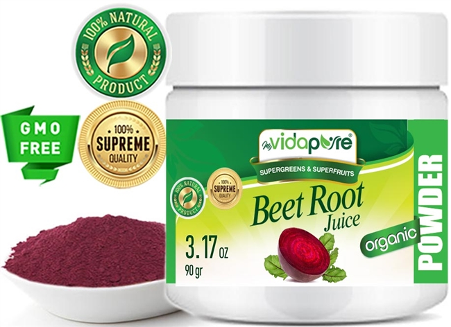 myVidaPure BEET ROOT JUICE POWDER ORGANIC