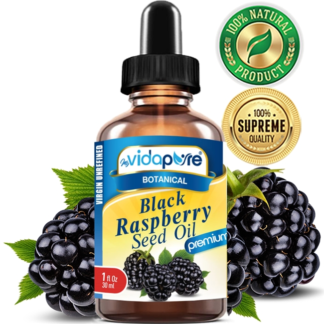 myVidaPure BLACK RASPBERRY SEED OIL