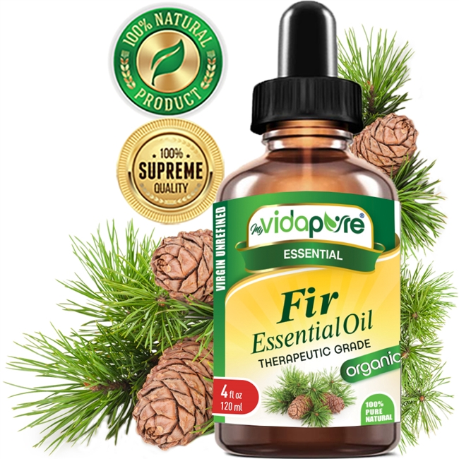 Fir Essential Oil Organic myVidaPure