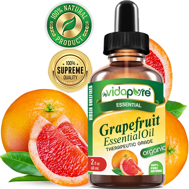 Grapefruit Essential Oil Organic myVidaPure