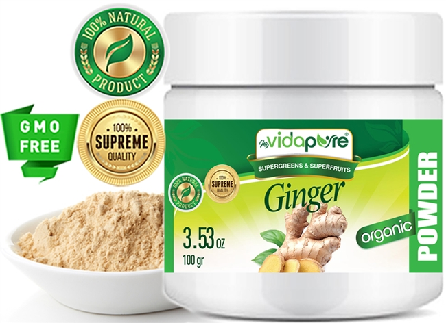 myVidaPure GINGER POWDER ORGANIC