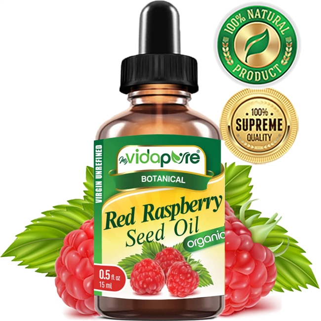 myVidaPure RED RASPBERRY SEED OIL ORGANIC