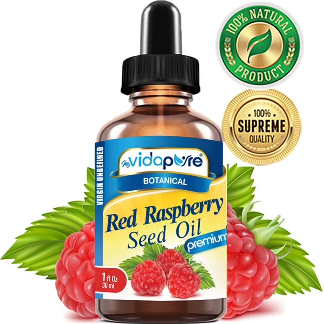 Red Raspberry Seed Oil myvidapure