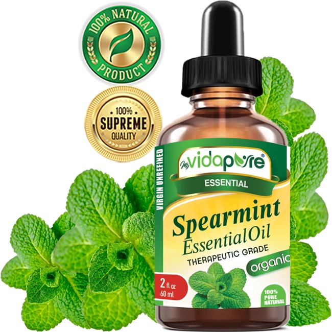 myVidaPure Organic Spearmint Essential Oil