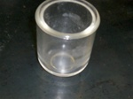 large fuel sediment bowl glass