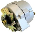 63 Amp One Wire Alternator With Pulley -- Used For Converting 6 Volt To 12 Volt