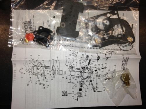 K2220 Zenith 33 carburetor kit