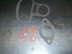 Zenith 124 1/2 carburetor gasket set