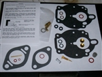 Zenith 267 carburetor kit 4 screws no pump