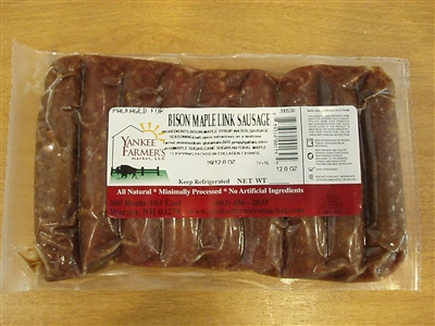 Buffalo Maple Breakfast Sausage