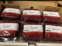 Case of Natural Ground Venison