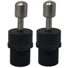 (2) Threaded Euro Style Pro Adapters Speargun Band Terminals
